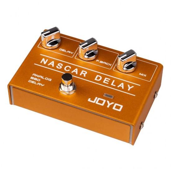 New Gear Day Joyo R-10 NASCAR DELAY Guitar Effects Pedal
