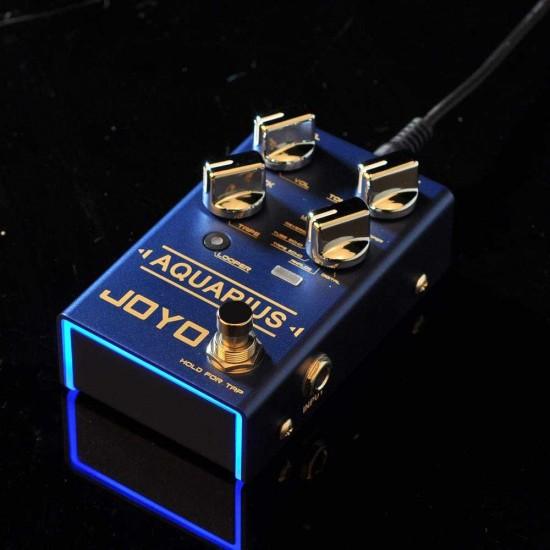 New Gear Day Joyo R-07 Aquarius Digital Delay + Looper Guitar Effects Pedal