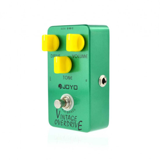 New Gear Day Joyo JF-01 Vintage Overdrive (OD808) Guitar Effect Pedal
