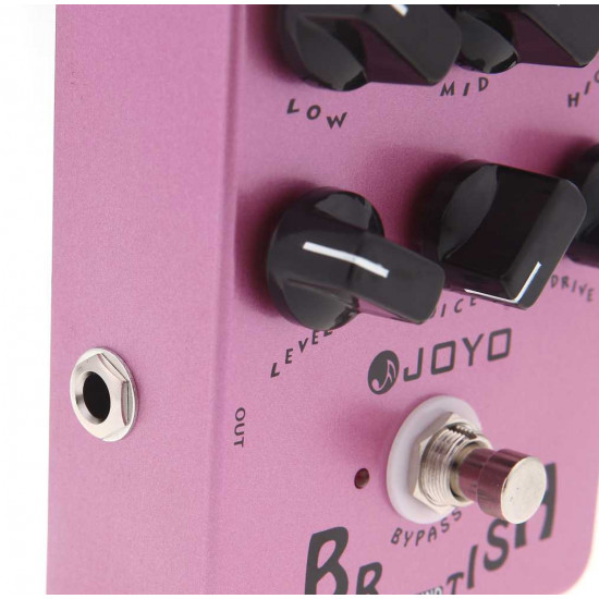 New Gear Day Joyo JF-16 British Guitar Amp Simulator Effects Pedal