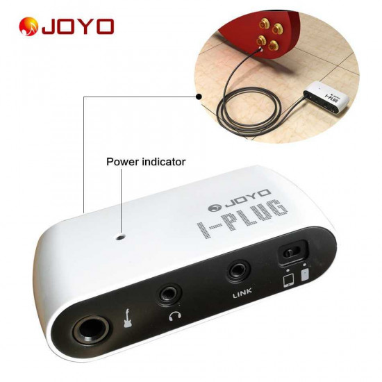 New Gear Day JOYO I-Plug Guitar Amp with Effects for Iphone, Ipad, Ipod, Android or Windows smart phones