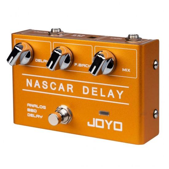Joyo R-10 NASCAR DELAY Guitar Effects Pedal