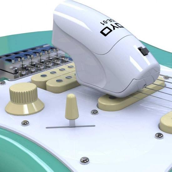 New Gear Day JOYO JGE-01 Wireless Guitar Infinite Sustainer, Handheld String Sustainer, Guitar Effect Pedal Trigger