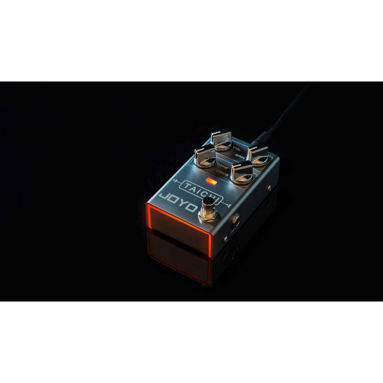 New Gear Day Joyo R-02 Taichi Distortion Guitar Effects Pedal