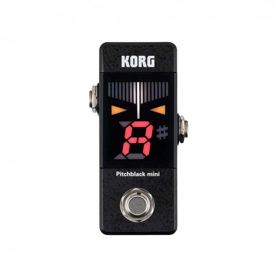 New Gear Day Korg Pitchblack Mini Guitar or Bass Tuner