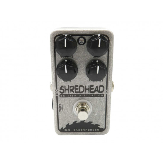 New Gear Day M.V. Electronics Shredhead Distortion Guitar Pedal