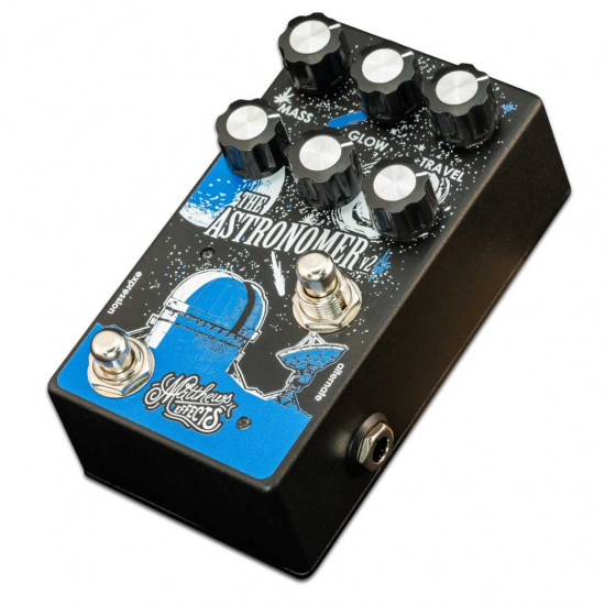 New Gear Day Matthews Effects ASTRONOMER V2 - CELESTIAL REVERB