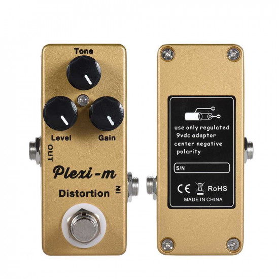 Mosky Plexi-m Distortion Effects Pedal