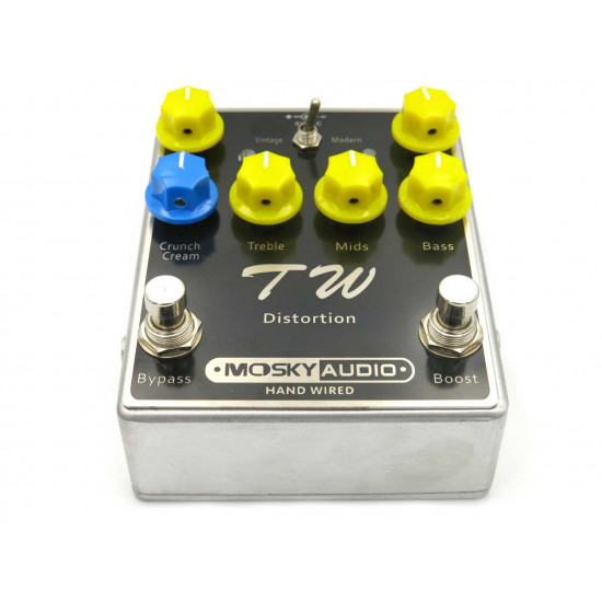 New Gear Day Mosky TW Distortion Guitar Effects Pedal