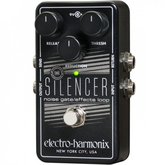 New Gear Day Electro-Harmonix The Silencer Noise Gate/Effect Loop Guitar