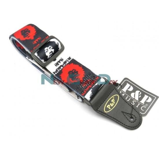 P&P S008-59 Jimi Hendrix Guitar Strap