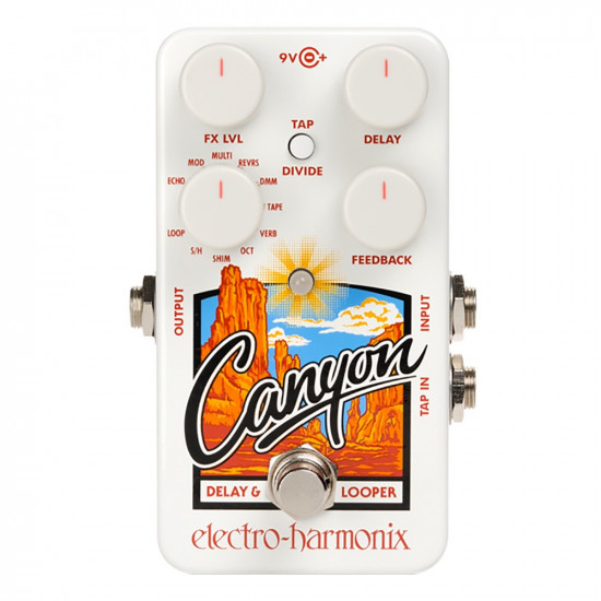 New Gear Day Electro Harmonix CANYON Delay & Looper Pedal