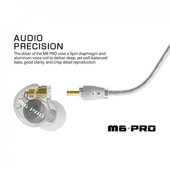 MEE Audio M6 PRO - Clear