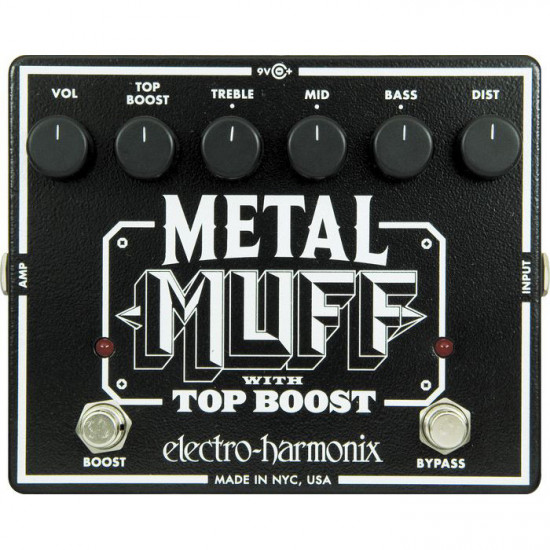 New Gear Day Electro-Harmonix Metal Muff with Top Boost