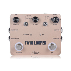 Rowin Twin Looper Guitar Effects Pedal