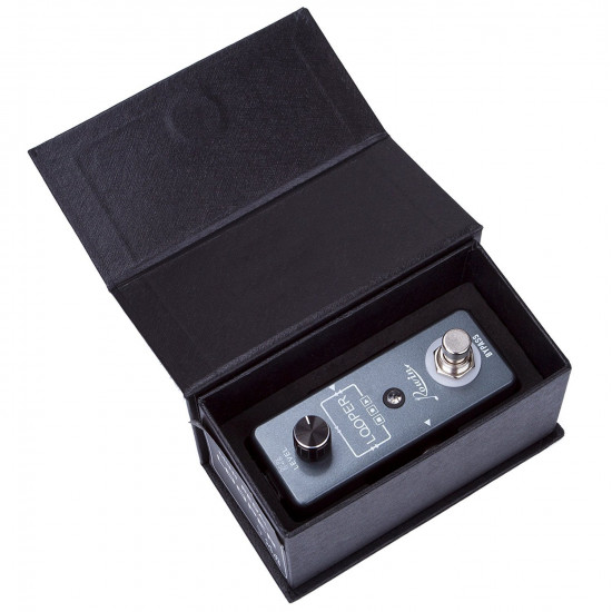 Rowin LEF-332 Looper Guitar Pedal Unlimited Overdubs 10 Minutes Of Looping With USB To Import And Export Loop