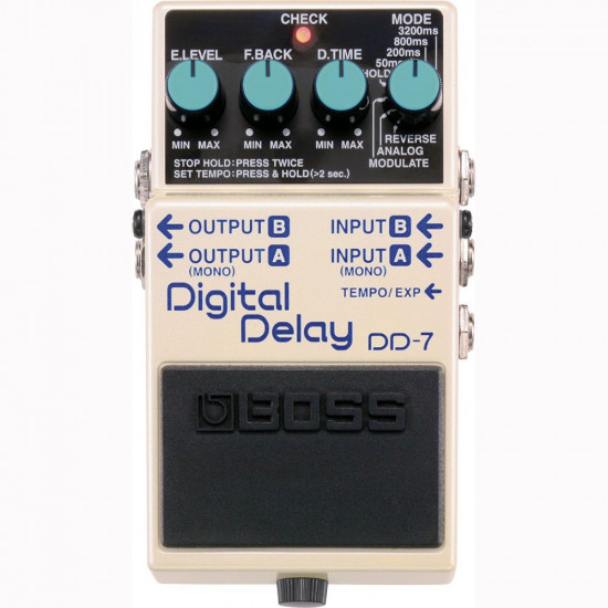 New Gear Day BOSS DD-7 Digital Delay Pedal