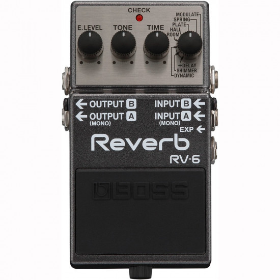 New Gear Day BOSS RV-6 Digital Reverb