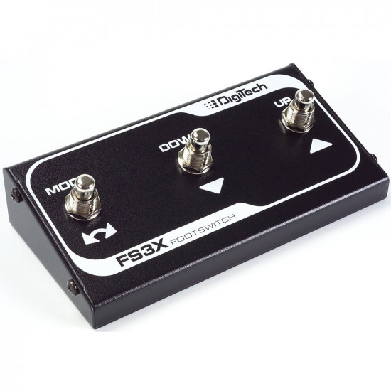 New Gear Day DigiTech Trio+ Plus Band Creator and Looper Guitar Effects Pedal with FS3X 3-Button Foot Switch