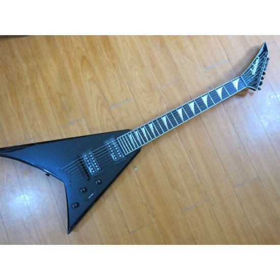 New Gear Day Jackson X Series Rhoads RRXT24-7 7-String Electric Guitar Gloss Black