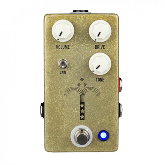 New Gear Day JHS Pedals Morning Glory V4 Transparent Overdrive Guitar Effect Pedal