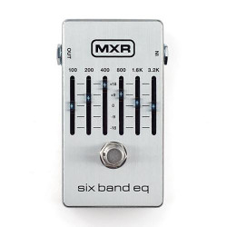MXR M109S 6-Band Graphic EQ Guitar Effects Pedal