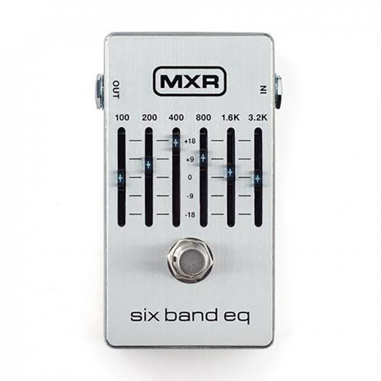 New Gear Day MXR M109S 6-Band Graphic EQ Guitar Effects Pedal