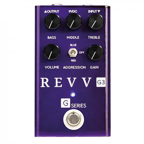 New Gear Day Revv Amplification G3 Distortion Pedal