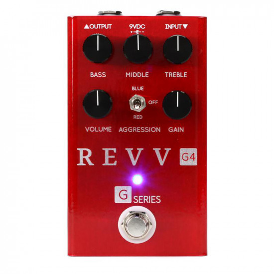 New Gear Day Revv Amplification G4 Distortion Pedal
