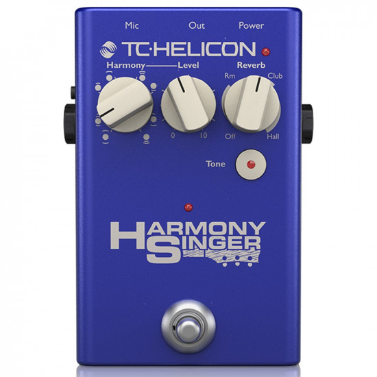 New Gear Day TC Helicon Harmony Singer 2 Vocal Processing Pedal