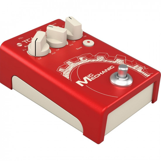 New Gear Day TC Helicon Mic Mechanic 2 Vocal Effects Pedal