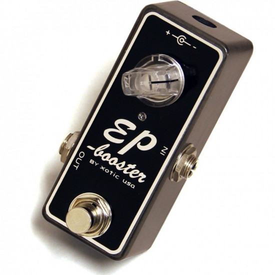 New Gear Day Xotic Effects EP Booster Guitar Effects Pedal