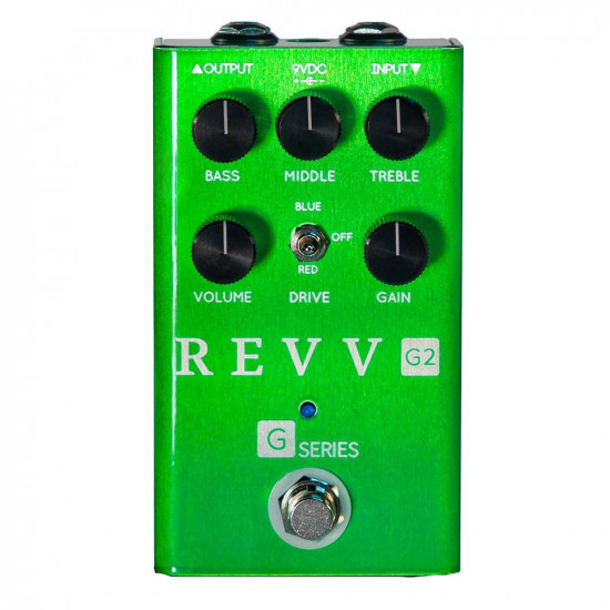 New Gear Day Revv G2 Dynamic Overdrive Guitar Effects Pedal