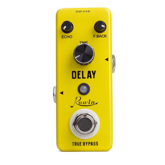 New Gear Day Rowin Analog Delay LEF-314 Guitar Effects Pedal
