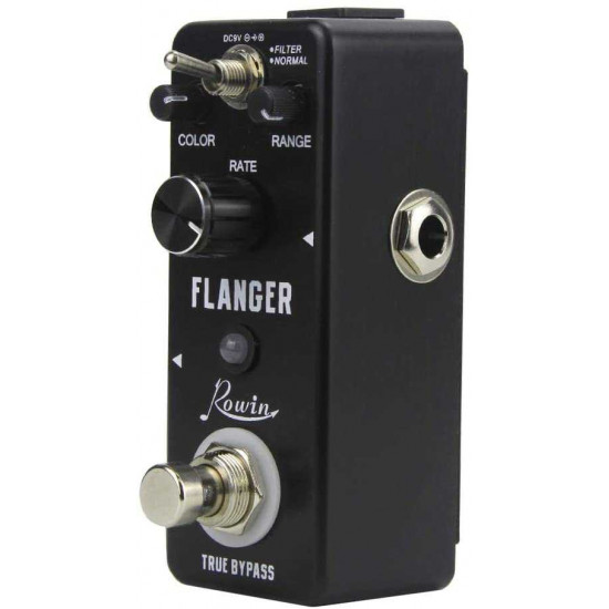 New Gear Day Rowin Flanger LEF-312 Flanger Guitar Effects Pedal