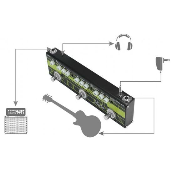 New Gear Day Rowin DAP-1 Guitar 3 in 1 Multi Effects Pedal