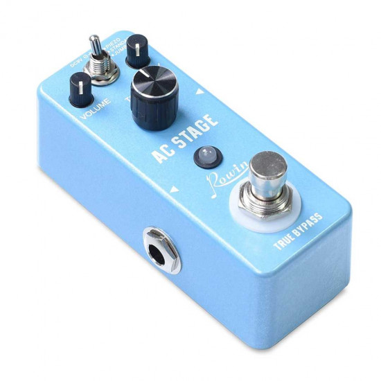 New Gear Day Rowin Guitar Effects Classical Ac Stage Acoustic Effects Pedal Guitar True Bypass Design Acoustic Guitar Simulator Effects