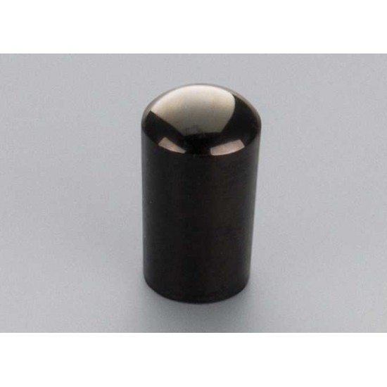 New Gear Day Schaller 3-Way Switch Tip In Black Chrome, Fits Most Us Gibson Guitars