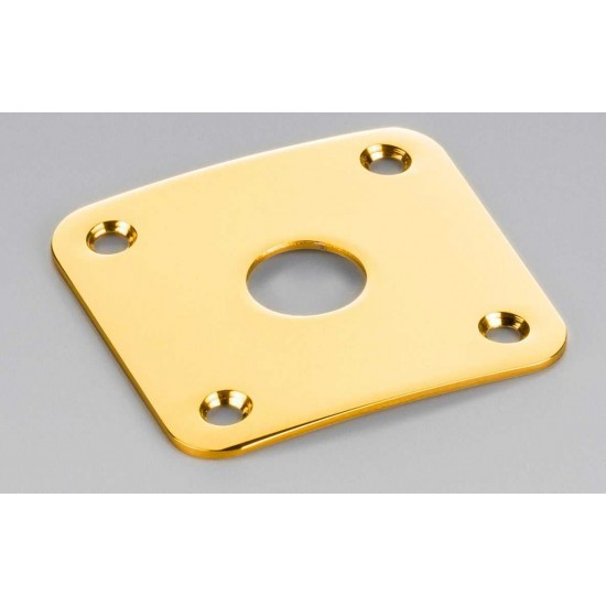 Schaller Germany Les Paul Style Jack Plate Gold 15190500