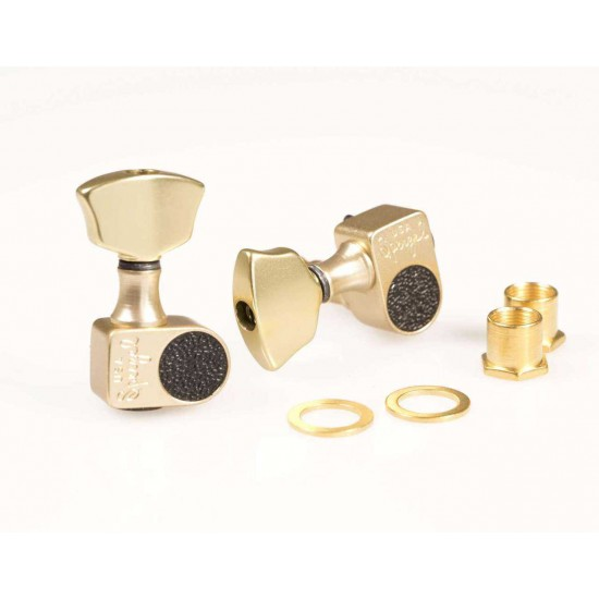 New Gear Day Sperzel Solid Pro 3X3 Tuners Satin Gold