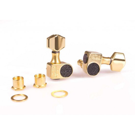 Sperzel Solid Pro 6 Inline Gold Plated Tuners