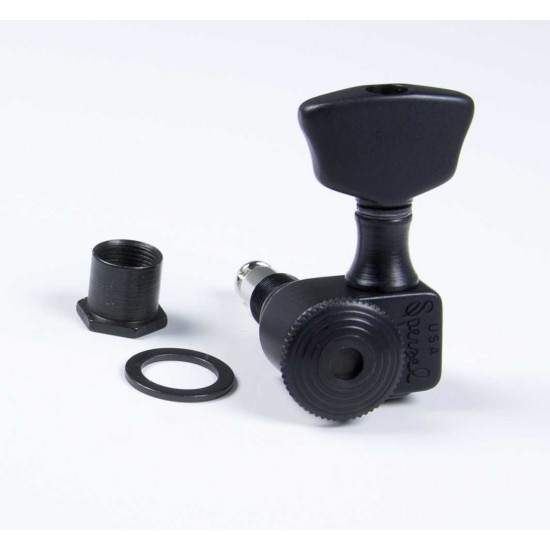 Sperzel Trim-Lok 3X3 Black Locking Tuner