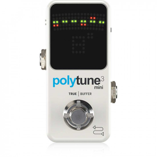New Gear Day TC Electronic Polytune 3 Mini Guitar Pedal Tuner