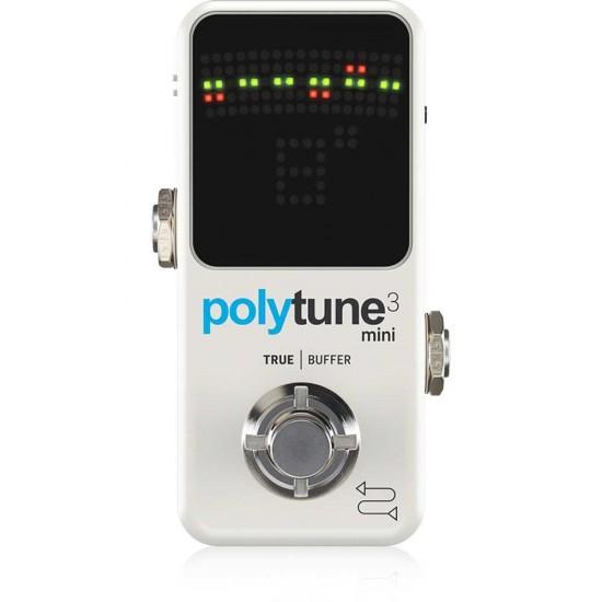 TC Electronic Polytune 3 Mini Guitar Pedal Tuner