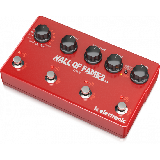 New Gear Day TC Electronic Hall of Fame 2 X4 Reverb Effects Pedal