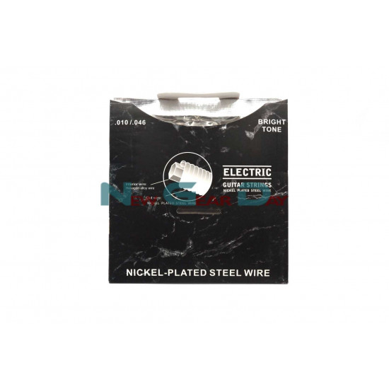 The Rose RX-E50- Electric Guitar Strings Nickel Plated Steel 10 to 46 - 3 sets