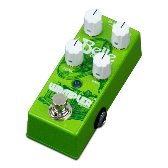 New Gear Day Wampler Belle Mini Compact 9v-18v Overdrive Pedal