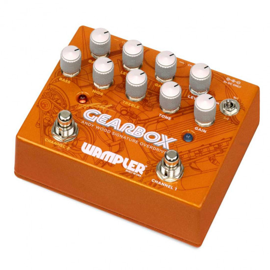 New Gear Day Wampler GearBox Andy Wood Signature Guitar Effects Pedal