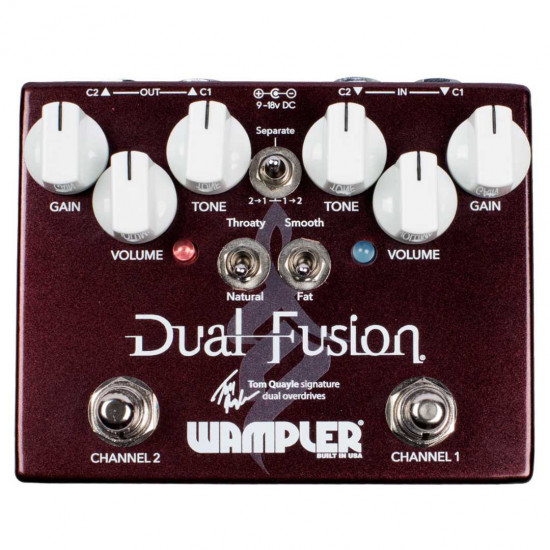 New Gear Day Wampler Dual Fusion