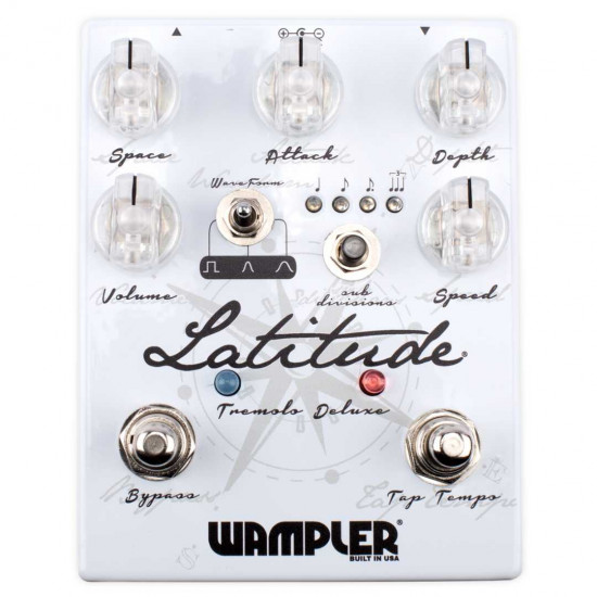 New Gear Day Wampler Latitude Deluxe Tremolo